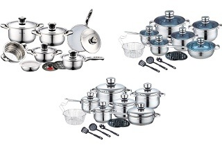 Royalty Line Pot Sets for R999 Including Delivery (Up to 88% Off)