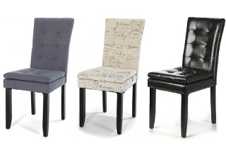 Set of Two Carisa Dining Chairs for R1 399 Including Delivery (33% Off)