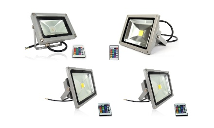 Remote Control RGB LED Floodlights from R358 Including Delivery (50% Off)