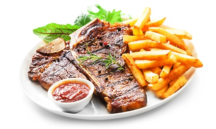 450g T-Bone Steak with Sauce and a Glass of Sherry Per Person from R159 Buzz 9 Restaurant & Bar (Up to 52% Off)