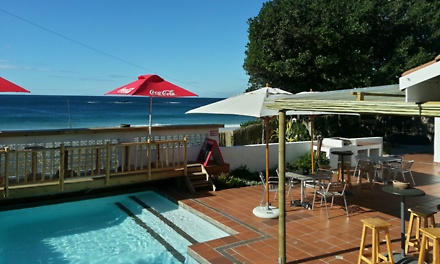 Plettenberg Bay: Two or Three-Night Weekend or Weekday Stay for Two at Backpackers Beach House Lodge
