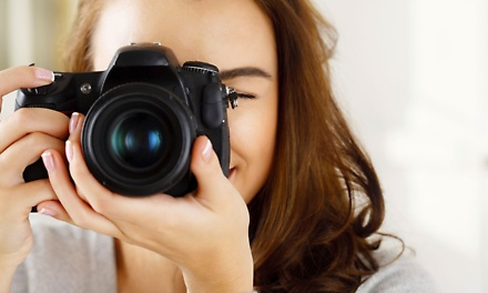 Studio Photo Shoot or Photography Course from R399 with Studio Image (Up to 62% Off)