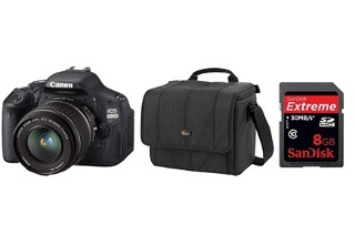 Canon EOS 600D DC Starter Bundle for R4 979 Including Delivery (20% Off)
