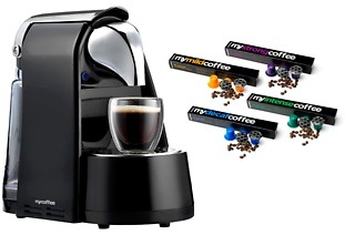 MyCoffee Coffee Machine or Coffee Capsules from R479.99 Including Delivery (Up to 36% Off)