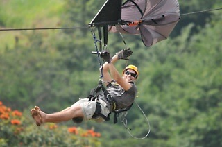 Para Zipline Tour from R298 at Club Venture (Up to 55% Off)