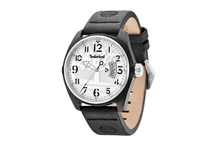 Timberland Men's Leather Black Sherington Watch for R1 199 Including Delivery (39% Off)