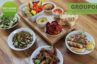 Taster Board, Salad and Large Protein from R149 at The Courtyard Café (Up to 39% Off)