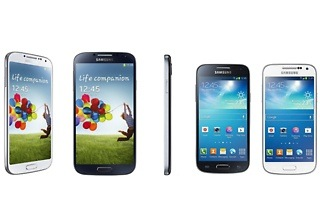 Demo Samsung Galaxy S4 or S4 Mini from R2 399 Including Delivery (Up to 45% Off)
