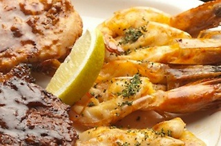 Land and Sea Platter from R179 at Jimmy's Killer Prawns Musgrave