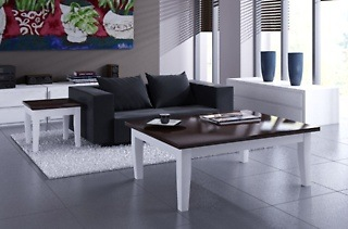 Bastille Range Coffee Table, Side Table and Three-Drawer Server for R5 999 Including Delivery (40% Off)