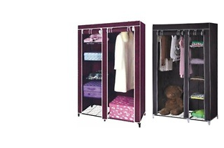 Storage Wardrobe for R299 Including Delivery (50% Off)