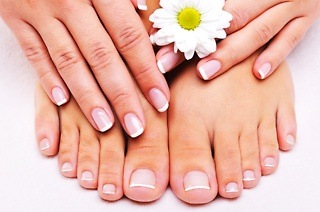 Manicure and Pedicure from R139 with Optional Massage at Moretlo Beauty Specialist (Up to 68% Off)