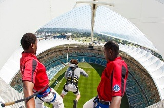 Moses Mabhida Big Swing for One Person for R347.50 with Big Rush (50% Off)