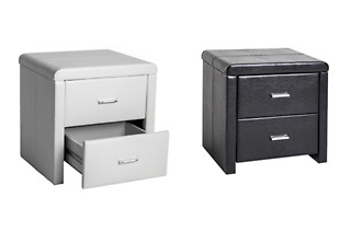 Leatherette Pedestal with Two Drawers for R999 Including Delivery (23% Off)