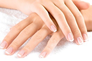 Mini Manicure or Pedicure with Gel Overlay from R109 at Classic nails (Up to 65% Off)