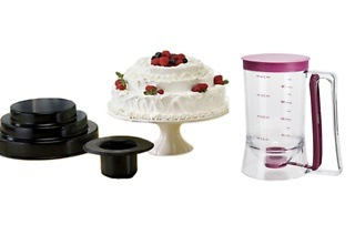 Three-Tier Cake Pan Baking Set and a Pancake Dispenser for R349 Including Delivery (42% Off)