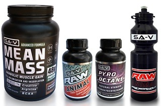 Gym Special: Pre and Post Workout, Muscle Fuel and Waterbottle for R399 Including Delivery (58% Off)
