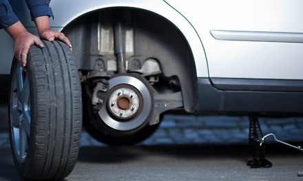 3D Wheel Alignment from R130 with Optional Wheel Balancing and Battery Check at Supa Quick Bryanston (Up to 57% Off)