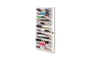 36-Pair Over Door Shoe Rack for R449 Including Delivery (50% Off)