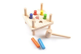 Hammer and Peg's Wooden Toy for R199 Including Delivery (13% Off)