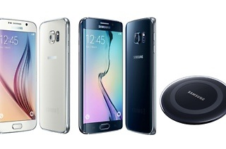 Samsung Galaxy S6 32GB or S6 Edge 64GB and Wireless Charger from R9 899 Including Delivery (Up to 25% Off)