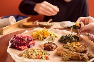 Seven-Course Ethiopian Experience from R159 at Queen Sheba Ethiopian Restaurant (Up to 55% Off)