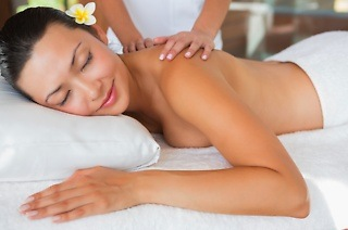 60-Minute Full Body Massage with Basic French Manicure or Pedicure from R289 at Nails from Heaven (Up to 60% Off)