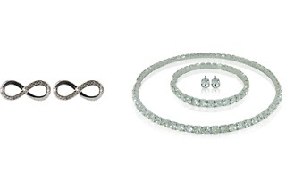 Bling it On or Infinity Loop Jewellery Made with Swarovski Elements from R199 Including Delivery (Up to 60% Off)
