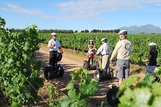 One-Hour Segway Farm Tour and Complimentary Wine Tasting for Two for R385 with Segway Tours