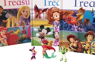 Disney Treasury Book and Mini Figurine for R239 Including Delivery (25% Off)