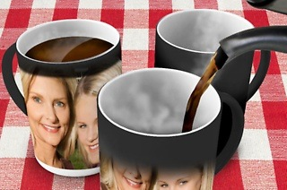 Personalised Magic Photo Mug from R149 with CandyWrap (Up to 59% Off)