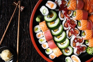Sushi for Up to Six from R79 at The Blackanese (40% Off)