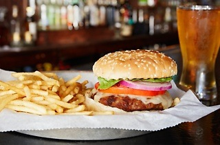 Burger and Beer Combo for Two for R74 at Oscars (40% Off)