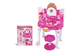 Musical Light Up Girls Dressing Table Toy Set for R489 Including Delivery (30% Off)