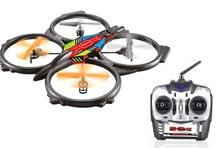 2.4 GHz Six-Channel UFO with Remote Control for R979 Including Delivery (65% Off)