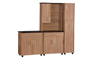 Wooden Kitchen Drawer and Cupboard Set for R2 799 Including Delivery (20% Off)