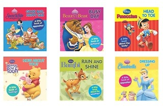 Set of Six Disney Educational Books for R239 Including Delivery (34% Off)