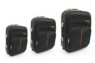 Fine Living Three - Piece Trolley Suitcase for R999 Including Delivery (50% Off)