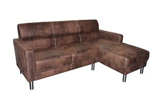 Two - Piece L - Shaped Lounge Suite for R4 999 Including Delivery (23% Off)