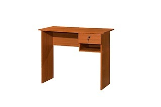 Cherry Office Desk with Drawer for R469 Including Delivery (61% Off)