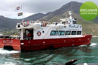 Boat Trip on the Glass Bottom Nauticat Charter from R80 with Nauticat Charters (50% Off)