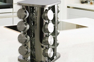 Square 16 - Piece Spice Rack for R399 Including Delivery (Up to 33% Off)