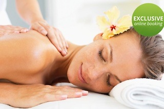 Back, Neck and Shoulder Massage from R99 with Optional Facial and Indian Head Massage at Victorian Haven (Up to 69% Off)