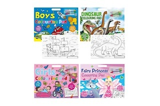 Set of Two A3 Colouring Books for Boys and Girls for R279 Including Delivery (37% Off)