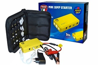 Rossi 14000mAh Car Jump Starter Power Bank for R729 Including Delivery (44% Off)