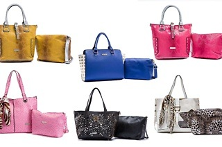 La Pearla Bags with Matching Sling Bags for R529 Including Delivery (47% Off)