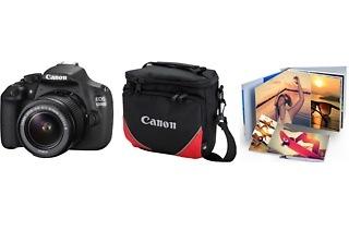 Canon 1200D 18MP DSLR Starter Photobook Bundle for R3 699 Including Delivery (21% Off)