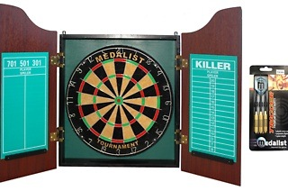 Medalist Dartboard and Cabinet Combo for R699 Including Delivery (36% Off)