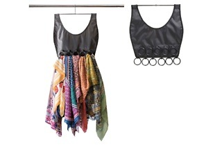 Set of Two or Four 16-Ring Hanging Scarf Holders from R179 Including Delivery (Up to 40% Off)