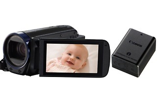 Black Canon Legria HF-R606 Camcorder Bundle for R2 550 Including Delivery